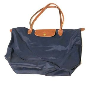 Longchamp Le Pliage Navy Bag